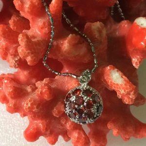 garnt necklace